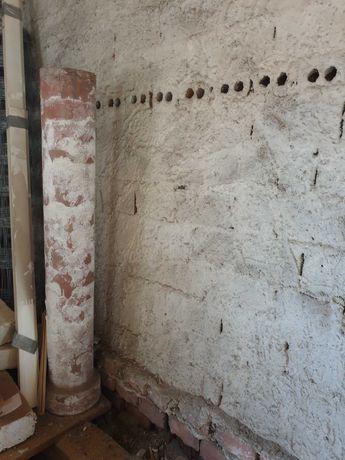Komin ceramiczny (z czegoś takiego jak cegła) 1,5m