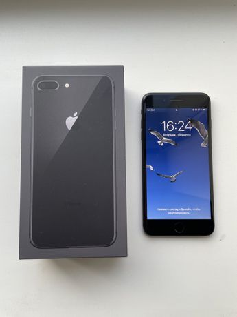 Продам IPhone 8 Plus 64 GB space grey/Айфон 8 плюс / ТОРГ