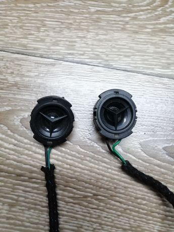 Głośniki wysokotonowe tweetery mercedes 2 sztuki