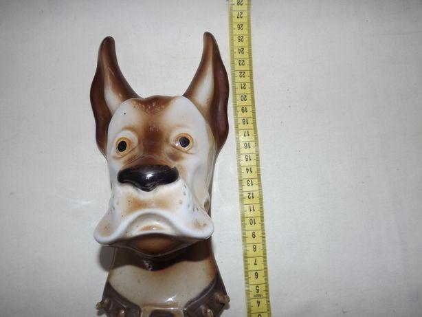 Собака Полонский фарфоровый завод