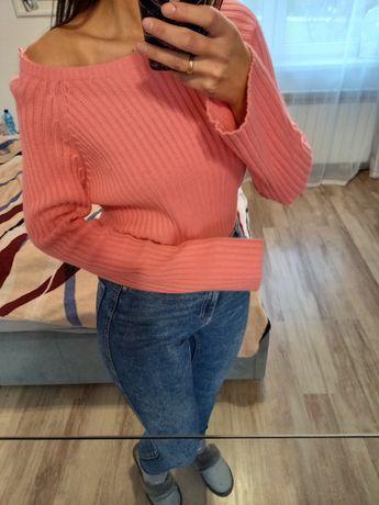 Rozowy Sweterek SML Oversize