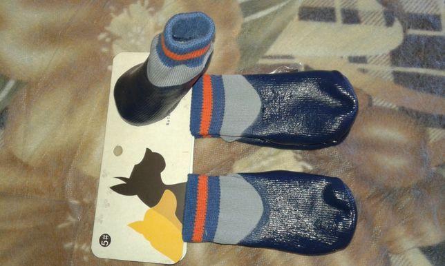 Прорезиненные носки для собак. Налапники. Обувь для собак