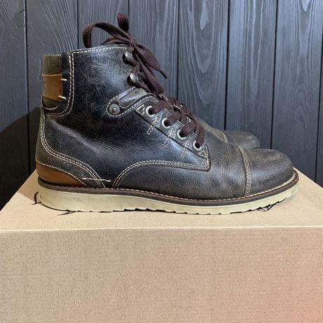 Кожаные ботинки Marc 42 размер Clarks tommy lacoste lowa ecco nike