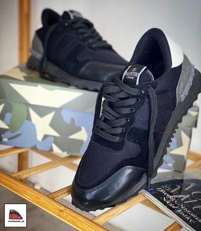Модные мужские кроссовки Valentino