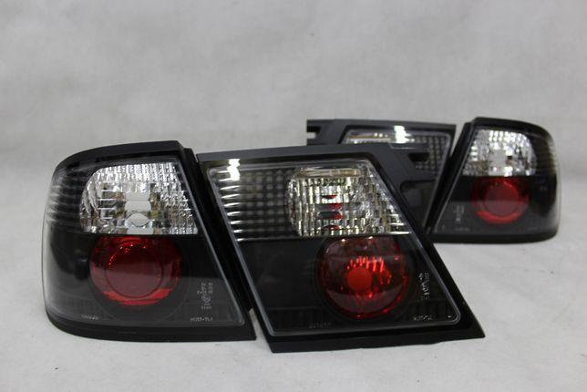 Lampy światła tylne tył NISSAN PRIMERA P11 96-98 BLACK TUNING NOWE!