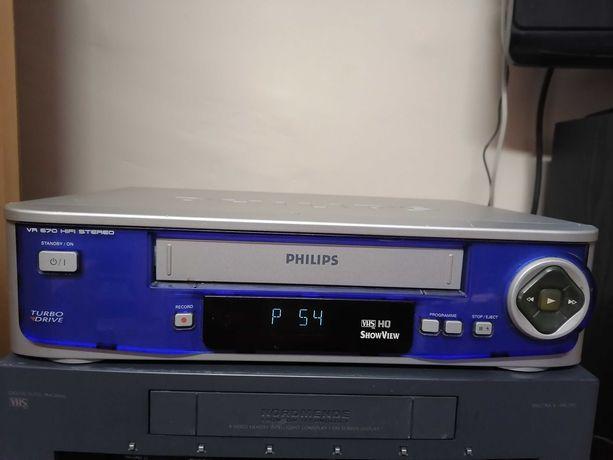 Magnetowid VHS Philips VR670 +GRATIS