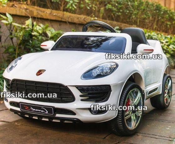 Детский электромобиль 3178 WHITE Porsche, Дитячий електромобiль