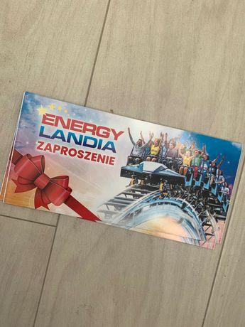 Zaproszenia bilety Energylandia - dla dwóch osób