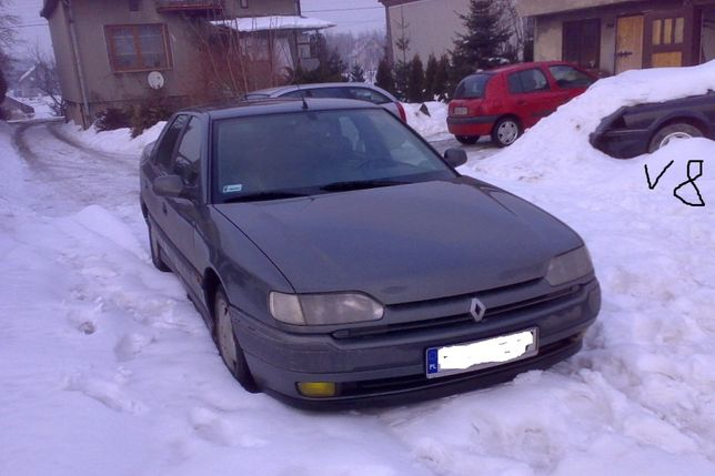 Reno Safrane Renault 1 Lampy Przód Tył Blenda Klapy Lusterka Klamki 94