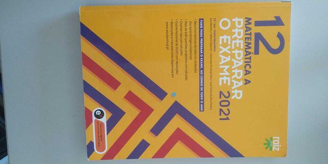 Preparar o Exame 2021 - Matemática A - Raiz Editora