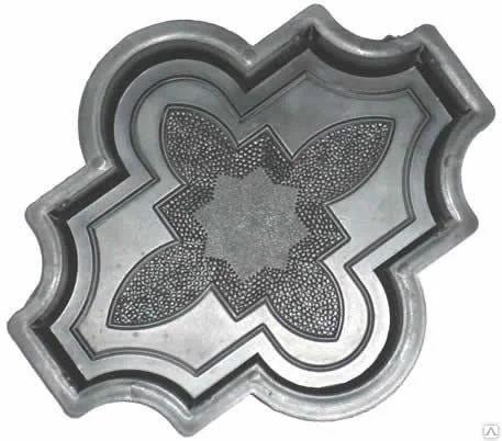 Формы для Плитки Тротуарной. Клевер. 16 грн/шт