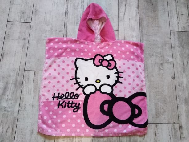 Ręcznik z kapturem hello Kitty