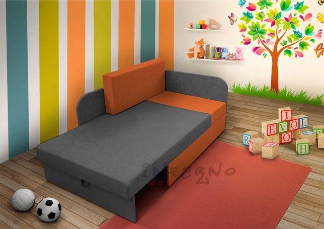 Narożnik dziecięcy KUBUŚ, łóżko dla dziecka, kanapa rozkładana
