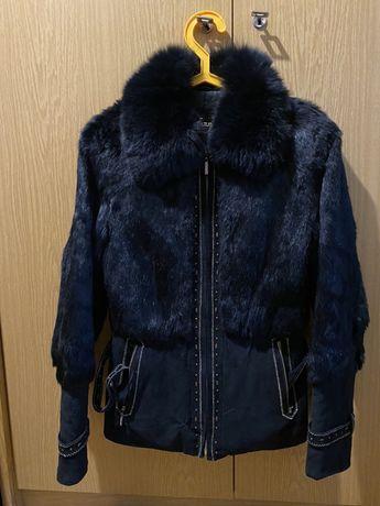 Курточка из кроличьего меха