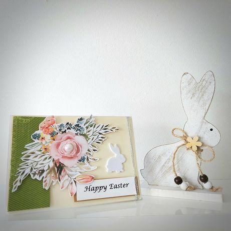 Happy Easter kartka Wielkanocna + koperta