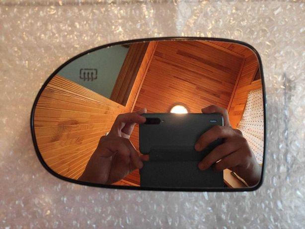 Зеркало вкладыш с подогревом Dodge Jeep (Левое, водительское)