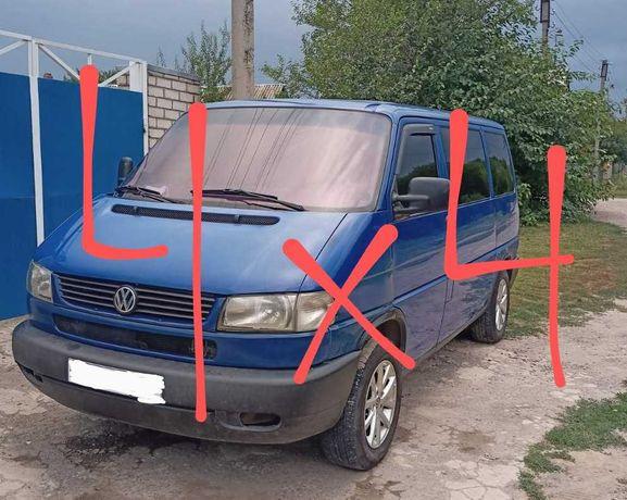 Volkswagen Caravella Synhro