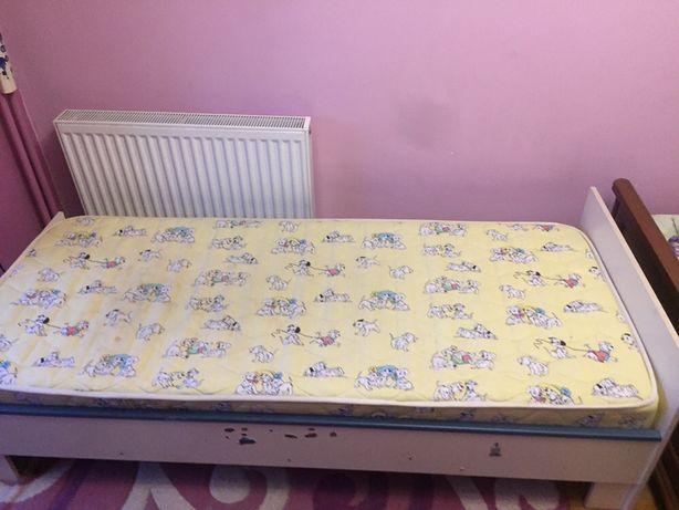 Ліжечко підліткове з ламелями + матрас