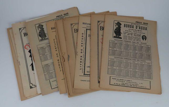 Conjunto de 11 revistas Borda D'Água