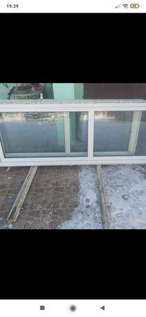 Drzwi balkonowe plastikowe