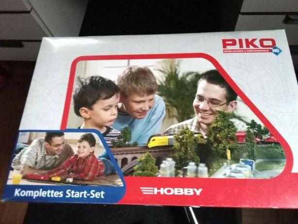 Стартовый набор железной дороги Piko 57151. Железная дорога Пико 1.87