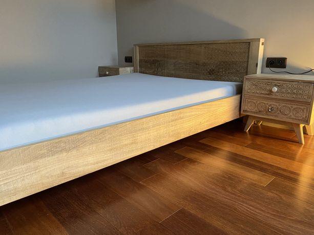 Łóżko Puro 160x200 cm drewniane