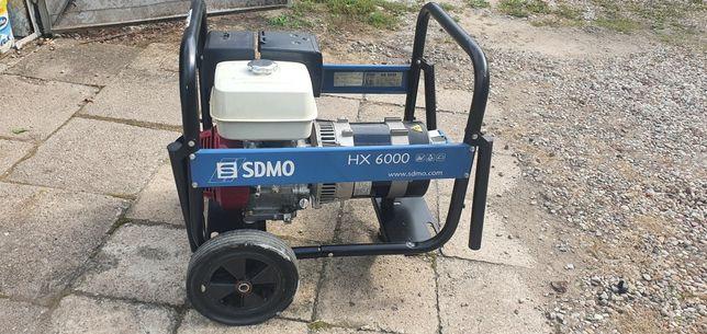 Agregat prądotwórczy jednofazowy honda SDMO