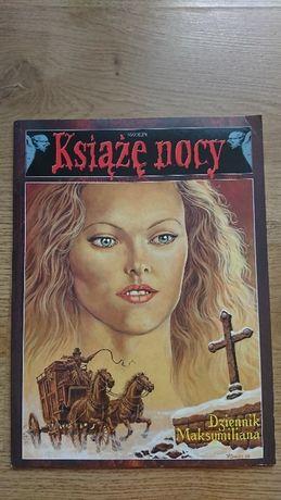 Komiks pt Książę Nocy Dziennik Maksymiliana tom 4