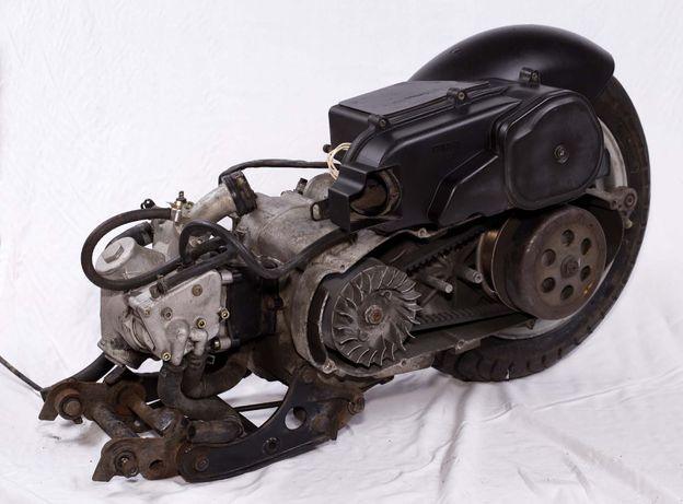 Silnik Italjet Millenium 150 / Yamaha / skuter / komplet z kołem
