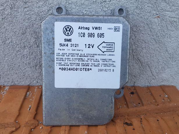 Moduł sensor airbag VW GOLF IV 4/BORA 1C0.909.605