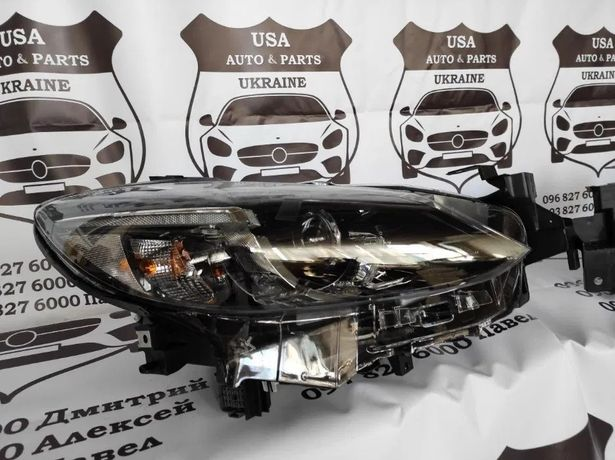 Фара Mazda 6 2016-2019 Led - Мазда 6 Бампер фары решетка усилитель