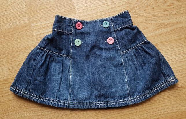 Spódnica jeans Next 12-18 mies 86