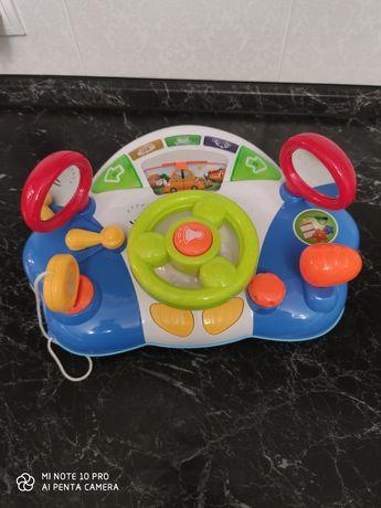 Детский Музыкальный руль, в хорошем состоянии