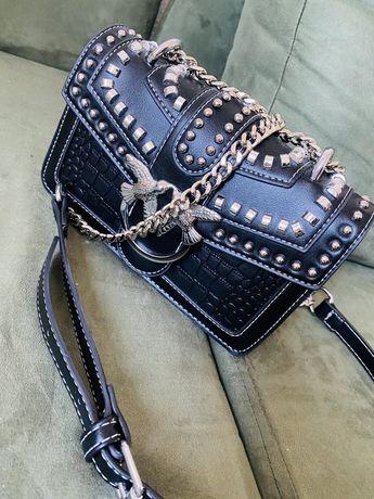 Luksusowa torebka czarna