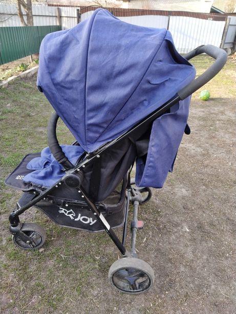 Прогулочная коляска Joy T200 синяя