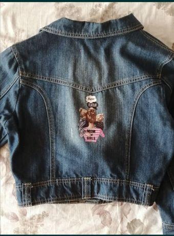 Джинсовый пиджак. 44-46