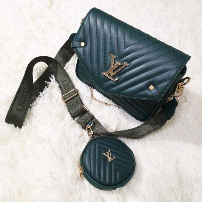 Женская сумка Louis Vuitton 2 в 1 луи витон , клатч , есть бежевая Одесса - изображение 1