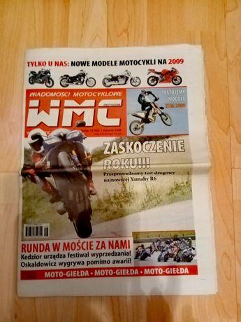 Gazeta Wiadomości Motocyklowe WMC numer 16 1 sierpnia 2008