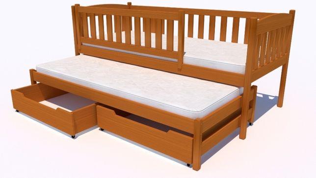 Drewniane łóżeczko dla dziecka polskiej firmy. Wiele rozmiarów!