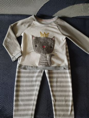 Пижама флисовая тёплая Marks&Spencer