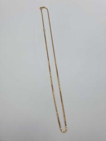 Łańcuszek damski złoty złoto 18k 750 niespotykany splot jak nowy