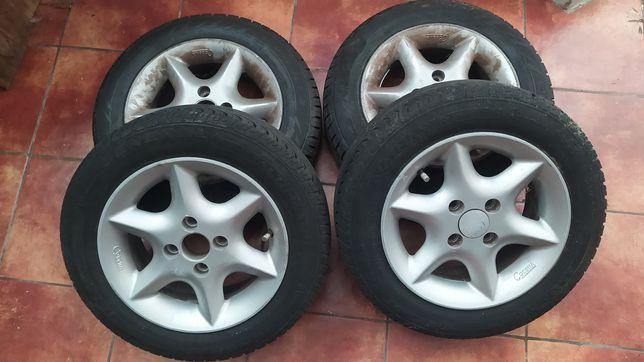 Jantes 13 fiat  com pneus