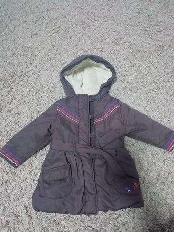 Демисезонная курточка, весна, осень на девочку 12-18 мес