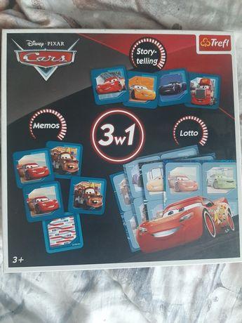 Gra 3w1  cars disney pixar