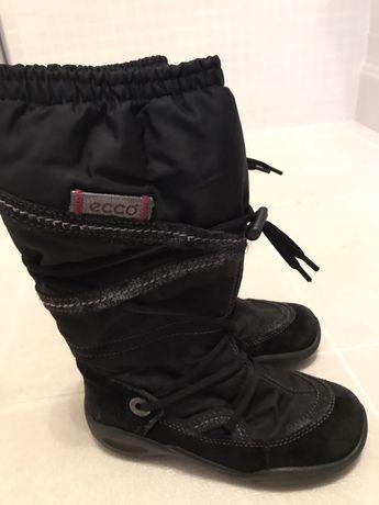 Чоботи, чобітки, сапоги Ecco, розмір 31
