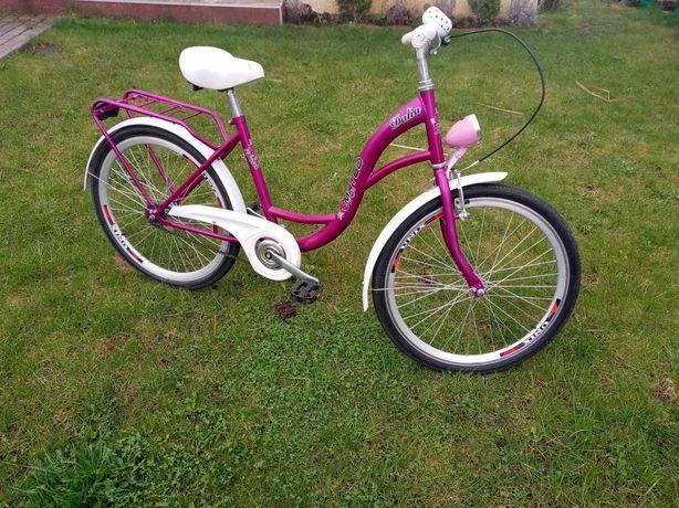 Rowerek 24 cali dla dziewczynki