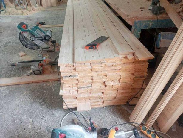 Вагонка деревянная, рейка, сайдинг, плинтус, блок-хаус, половая доска