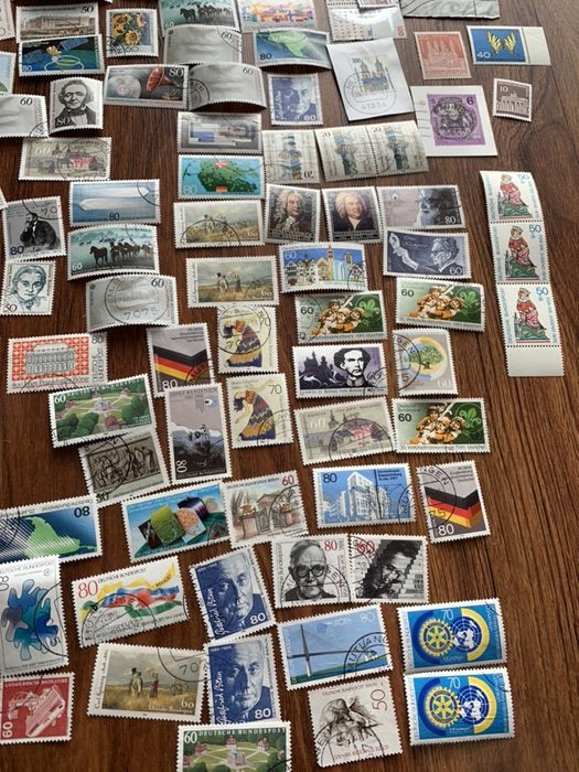 Znaczki pocztowe Deutsche Bundespost Dębica - image 1