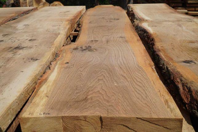 Blat, blaty DĘBOWE Brusy 240cm, 60mm monolit RYNEX DREWNO