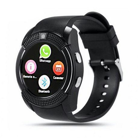 Умные смарт-часы Smart Watch V8. Цвет: черный, серебро.